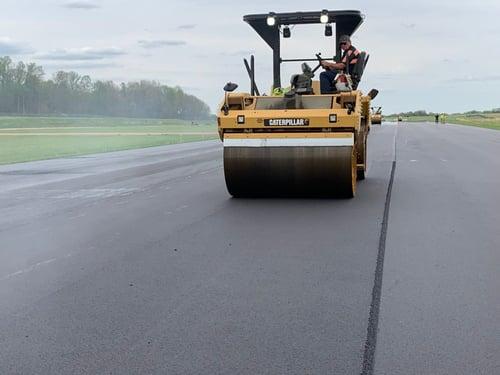 custom asphalt mix design utilizing ACE XP polymer fibers