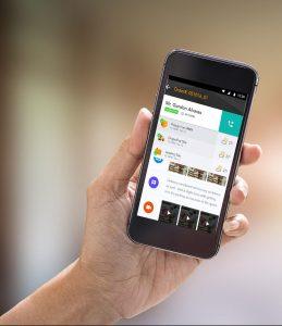 mobile platform for concrete industry